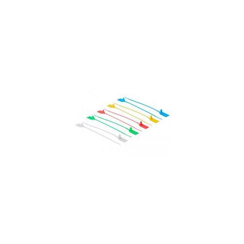 Delock Kabelbinder mit Beschriftungsfeld L 250 x B 2,7 mm