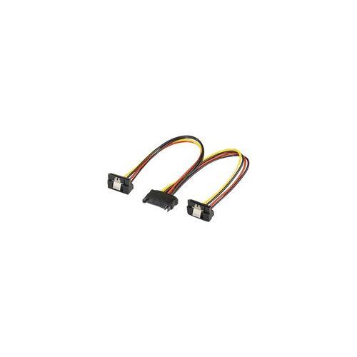 Goobay 15-Pin-SATA Y-Stromkabel 20cm, Y-Kabel