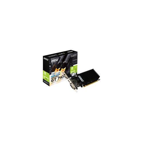 MSI GeForce GT 710 1GD3H LP, Grafikkarte