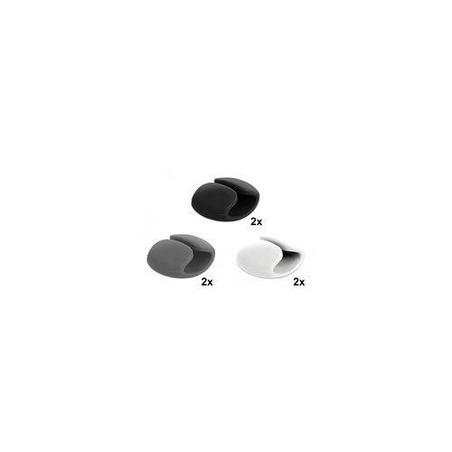 Delock Kabelhalter Clip Set, Halterung