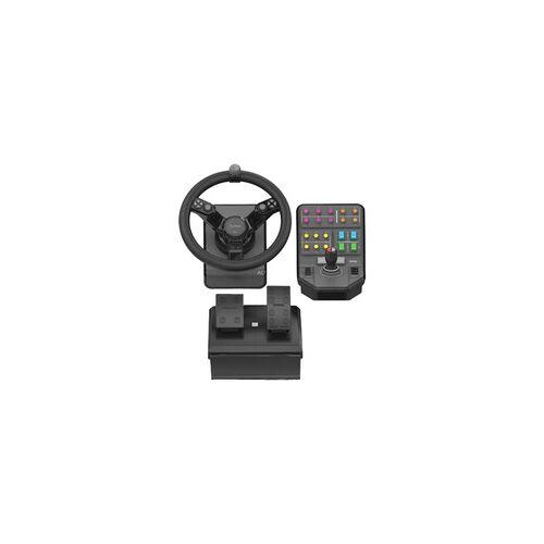 Logitech G Saitek Farm Sim Controller, Lenkrad