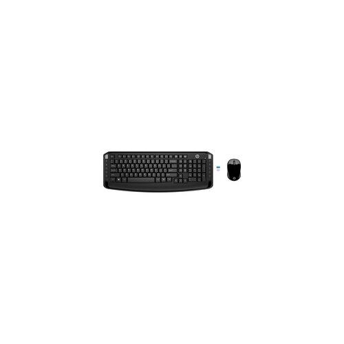 HP Wireless Tastatur und Maus 300, Desktop-Set