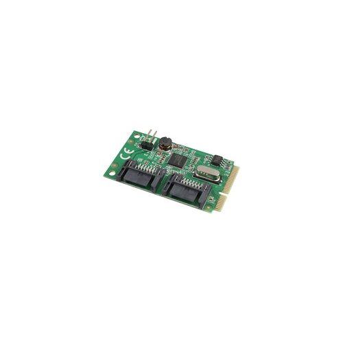 Delock MiniPCIe I/O PCIe 2xSATA 6Gb/s, Controller