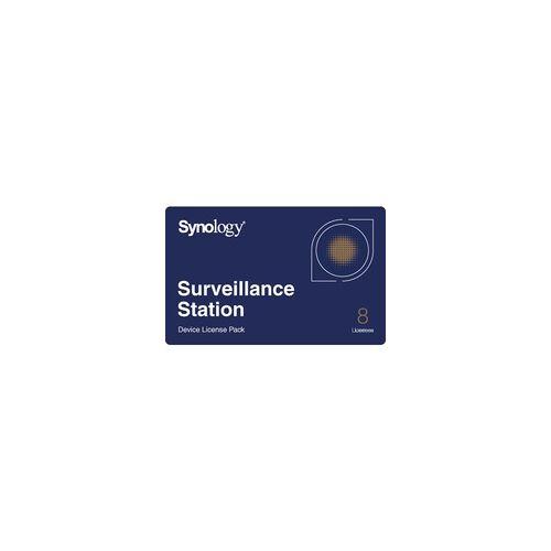 Synology 8x Camera Pack, Kamera-Lizenzen