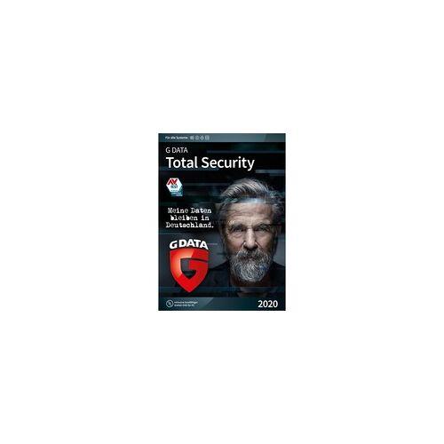 G DATA Total Security 2020, Sicherheit-Software
