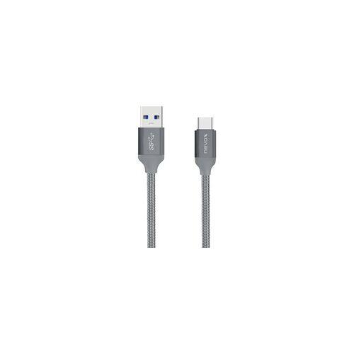 Nevox Kabel USB-C   USB 3.0, Nylon