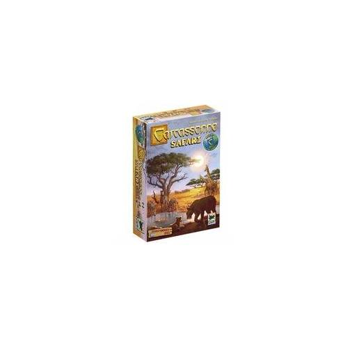 Asmodee Carcassonne Safari, Brettspiel