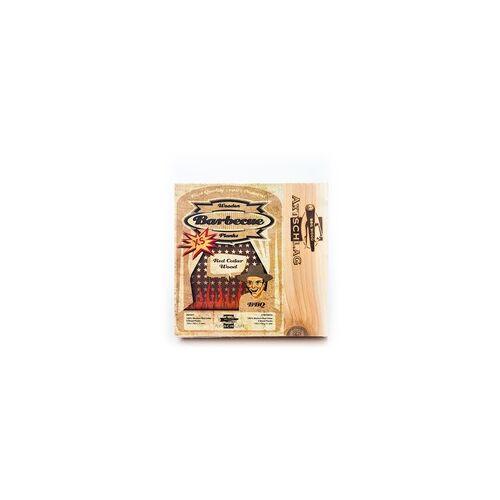 Axtschlag Grillbretter Western Red Cedar (Rotzeder) XS, Aroma-Holz