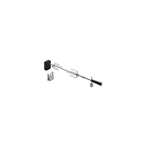 Moesta Rotisserie-Set für Smokin'' PizzaRing, für 57 / 58 / 60cm Kugelgrill, Grillspieß