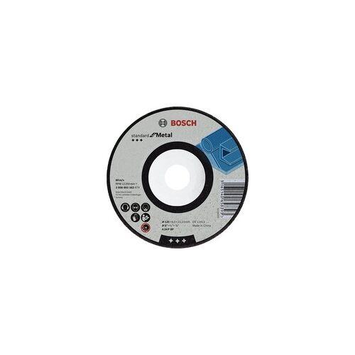 Bosch Schruppscheibe Standard for Metal, 125mm, Schleifscheibe