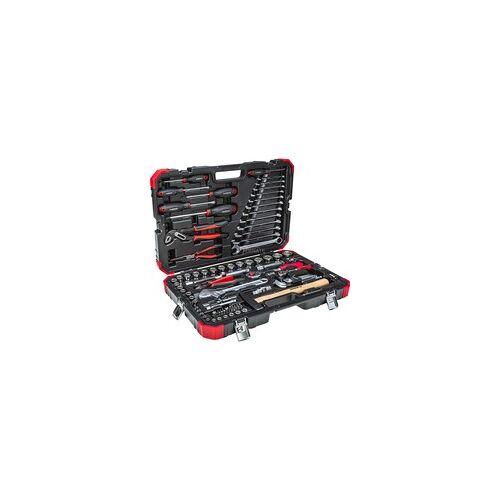 """Gedore Red Werkzeug- und Steckschlüssel-Satz 1/4"""" + 1/2"""", 100-teilig, Werkzeug-Set"""