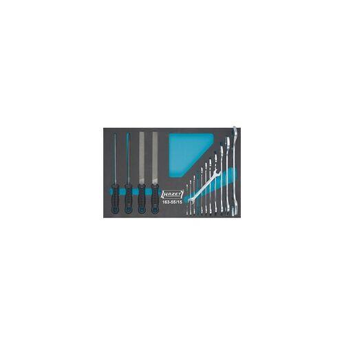 Hazet Werkzeug-Satz 163-55/15, Werkzeug-Set
