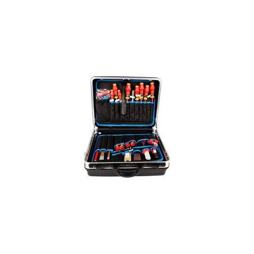 Knipex Werkzeugkoffer 002105HLS, 24-teilig, Werkzeug-Set