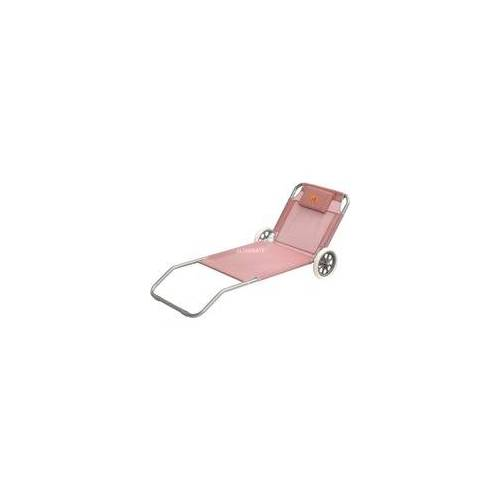 Easy Camp Pier Coral Red 15 cm 420045, Camping-Liegestuhl