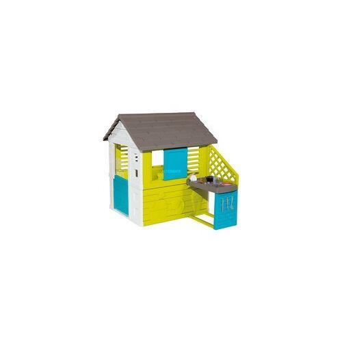 Smoby Pretty Spielhaus mit Sommerküche, Gartenspielgerät