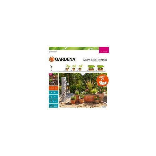 Gardena Micro-Drip-System Start-Set Pflanztöpfe M automatic, Bewässerungsautomat