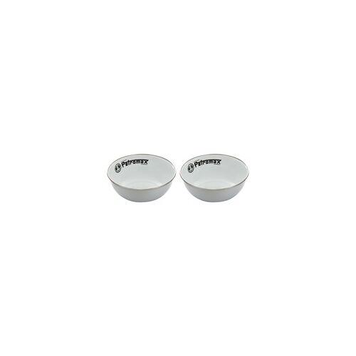 Petromax Emaille Schalen px-bowl-w, 2 Stück, Schüssel