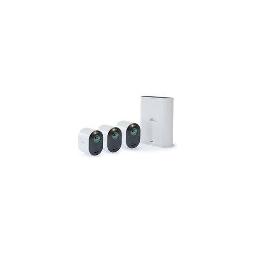 Arlo Ultra Wireless System 3 Cams, Überwachungskamera