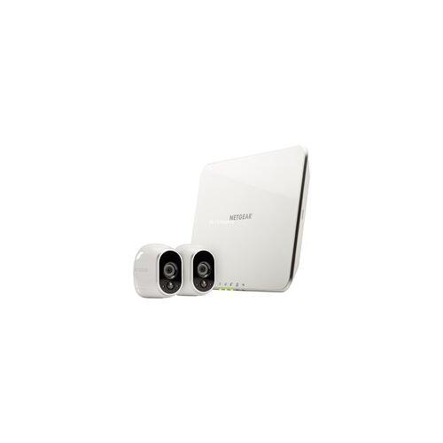 Arlo Sicherheitssystem mit zwei HD-Kameras, Netzwerkkamera