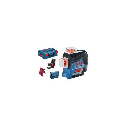 Bosch Linienlaser GLL 3-80 C Professional, L-BOXX, Kreuzlinienlaser