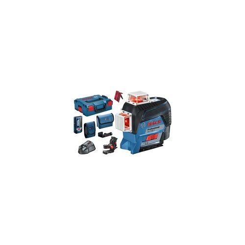 Bosch Linienlaser GLL 3-80 C Professional, Laser-Empfänger LR 7, L-BOXX, Kreuzlinienlaser