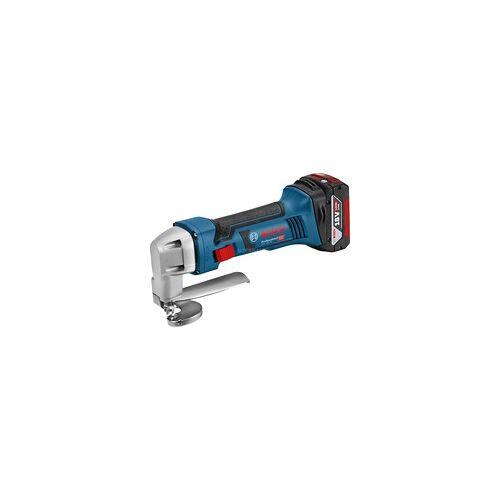 Bosch GSC 18V-16, 2 x 5,0 Ah, L-Boxx, Blechschere