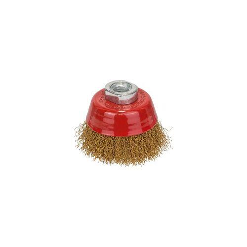 Bosch Topfbürste Clean for Metal, vermessingt, M14