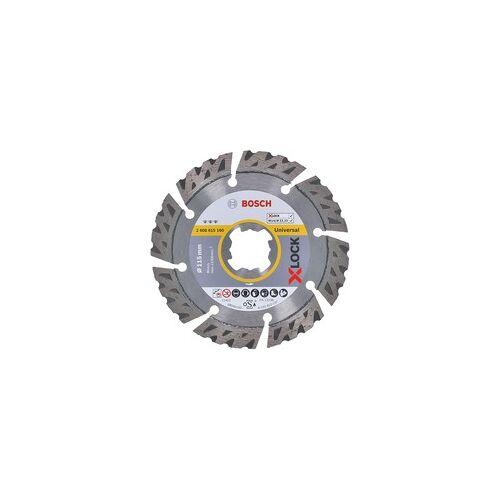 Bosch X-LOCK Diamant-Trennscheibe Best for Universal 115mm