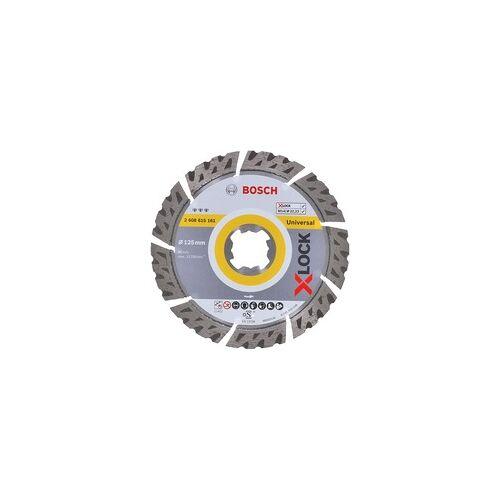 Bosch X-LOCK Diamant-Trennscheibe Best for Universal 125mm