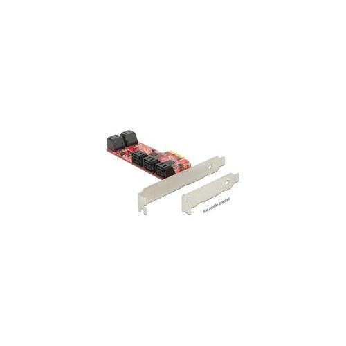 Delock PCI ExpressCard x2 Card  10x SATA 6 Gb/s, Serial ATA-Controller