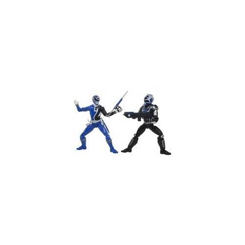 Hasbro Power Rangers Lightning Collection S.P.D. B-Squad Blauer Ranger Vs A-Squad Blauer Ranger, Spielfigur