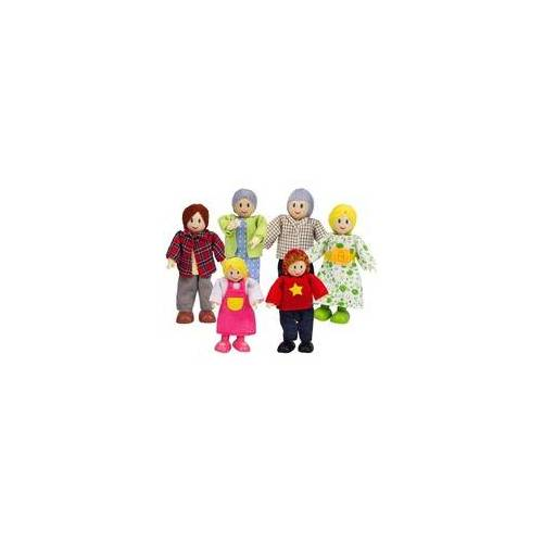 Hape Puppenfamilie - Helle Hautfarbe