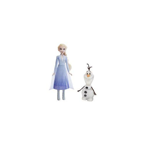 Hasbro Die Eiskönigin 2 - Magischer Spielspaß mit Elsa & Olaf, Puppe