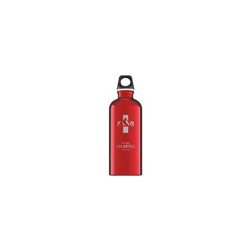 Sigg Alu Mountain Red 0,6L, Trinkflasche