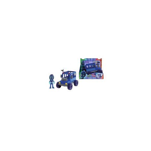 Simba PJ Masks Ninja mit Bus, Spielfigur