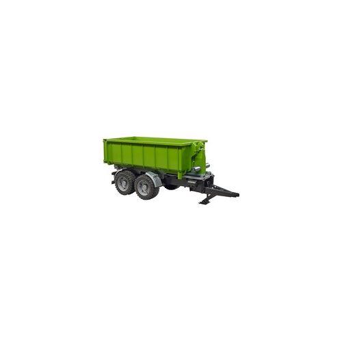 Bruder Hakenlift-Anhänger für Traktoren, Modellfahrzeug