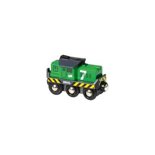 BRIO World Batterie-Frachtlok, Bahn