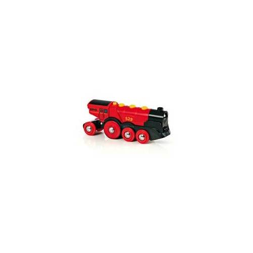 BRIO World Rote Lola Batterielok, Bahn
