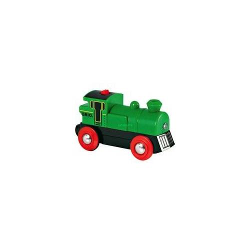 BRIO World Speedy Green Batterielok, Bahn