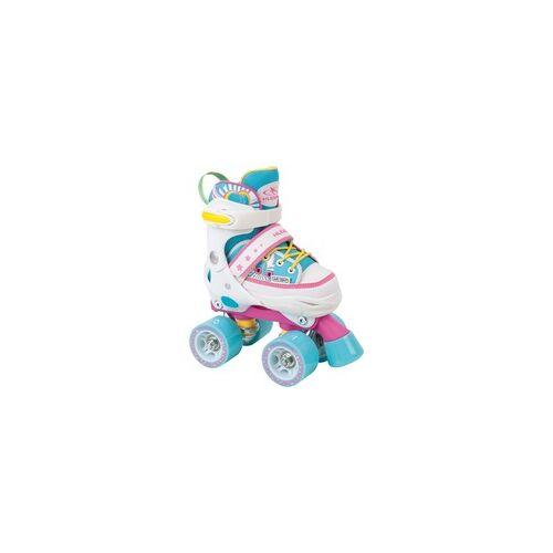 Hudora Rollschuh Skate Wonders, verstellbar Gr. 32-35, Rollschuhe