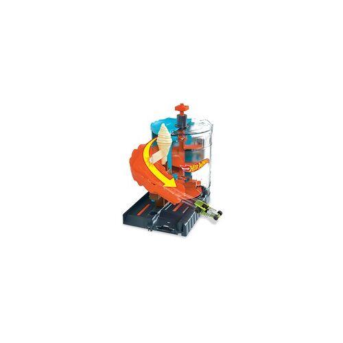 Hot Wheels Eismaschinen Rampe Spielset inkl. 1 Spielzeugauto, Rennbahn