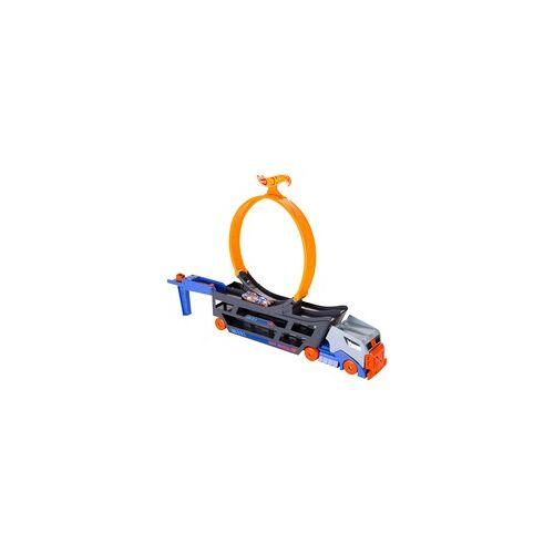 Hot Wheels Stunt N Go Transporter & Trackset, Spielfahrzeug