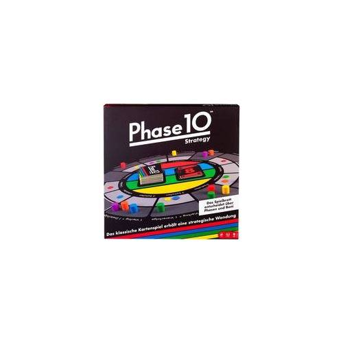 Mattel Games Phase 10 Strategy, Brettspiel