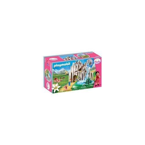 PLAYMOBIL 70254 Am Kristallsee mit Heidi, Peter und Clara, Konstruktionsspielzeug