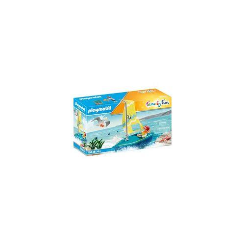PLAYMOBIL 70438 Segeljolle, Konstruktionsspielzeug