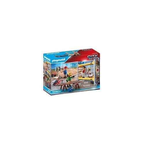 PLAYMOBIL 70446 Baugerüst mit Handwerkern, Konstruktionsspielzeug