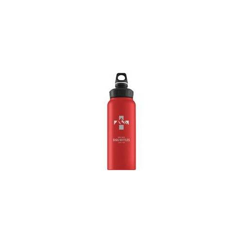 Sigg Alu WMB Mountain Red Touch 1.0L, Trinkflasche
