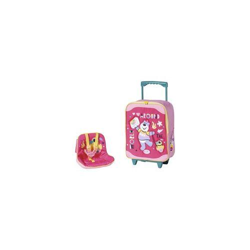 Zapf Creation BABY born® Holiday Trolley mit Puppensitz, Puppenzubehör