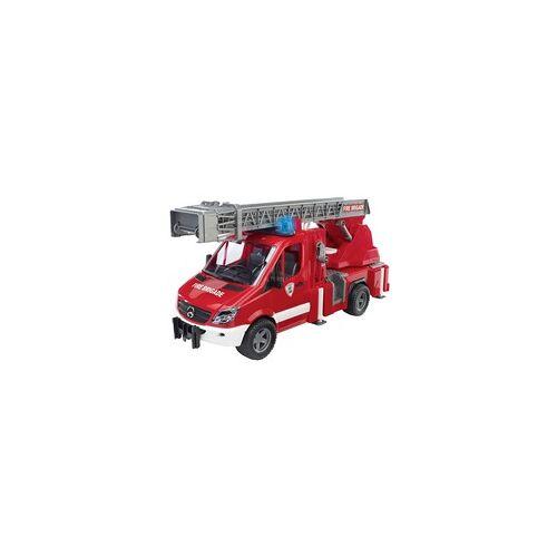 Bruder MB Sprinter Feuerwehr mit Drehleiter und Wasserpumpe, Spielfahrzeug