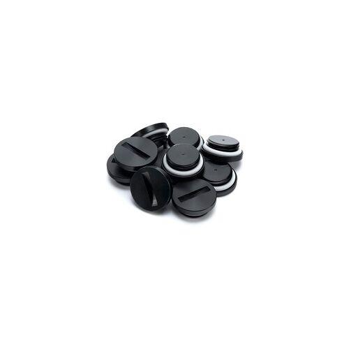 EKWB EK-PLUG G1/4 Acetal - Black (10er Pack), Stopfen